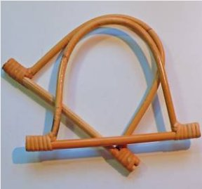 Bamboo D Shaped Bag Handles