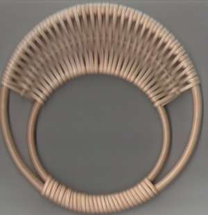 Circular Wicker Bag Handles