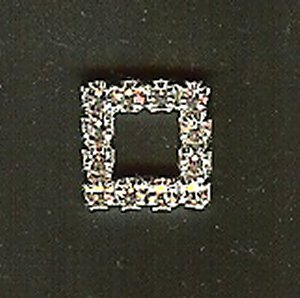 "Diamante 1/4"" Square Trim - Iron on"