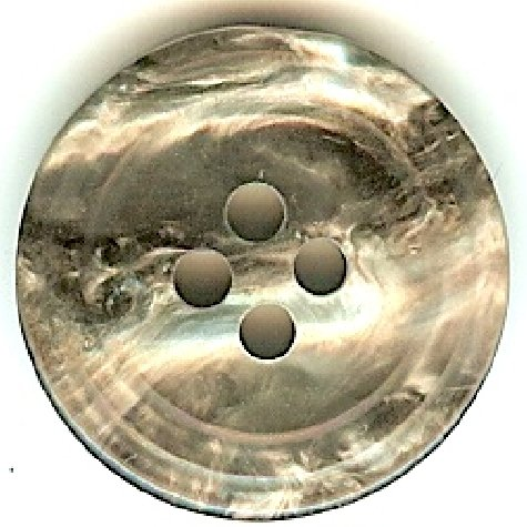 Grey Marble Button B300073