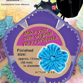 Quick YO-YO Maker Flower Shaped Large 8707