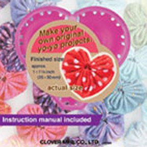 Quick YO-YO Maker Heart Shaped Small 8704