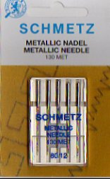 Schmetz Metallic Needles 80/12