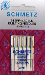 Schmetz Quilting Needles 75/11