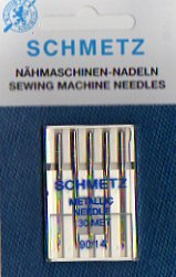 Schmetz Sewing Machine Needles 90/14