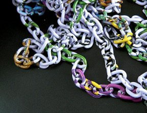 Chain - Light Weight Coloured Aluminium 6mm link