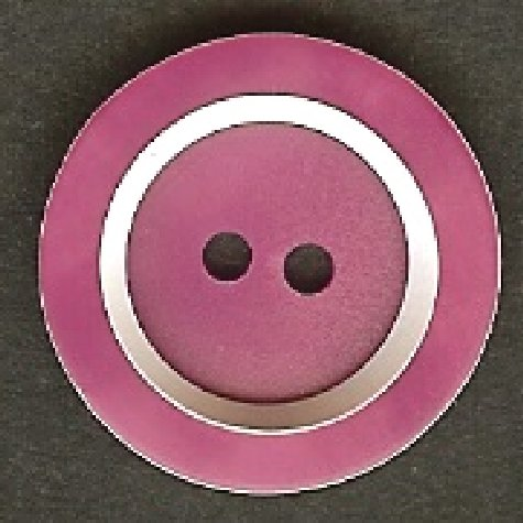 Dark Cerise Pink Button B100054