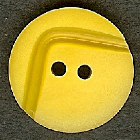Deep Yellow Button B300079