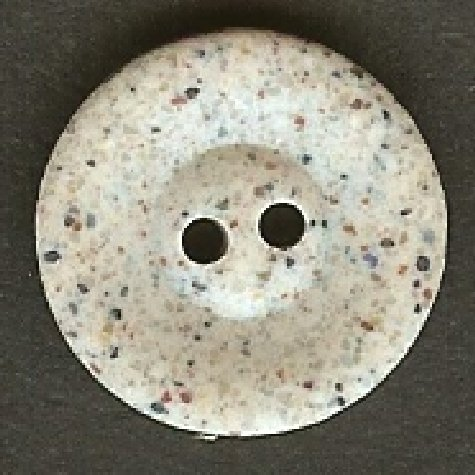 Light Grey Stone Effect Button B100098