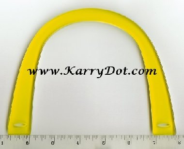U shaped Bag Handles - Yellow
