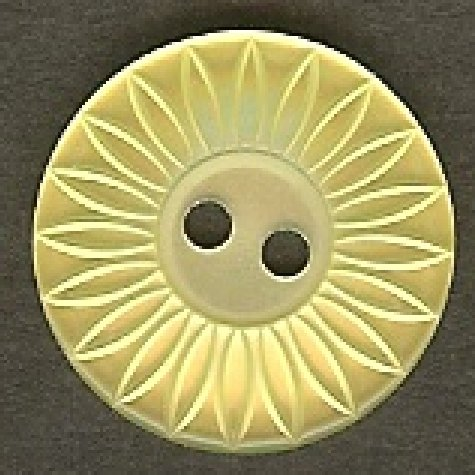 Yellow Button B100118